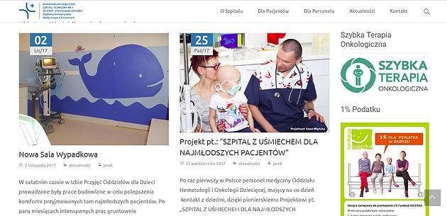 """EFIMED & Samodzielny Szpital Kliniczny nr 1 w Zabrzu w projektcie: """"SZPITAL Z UŚMIECHEM DLA NAJMŁODSZYCH PACJENTÓW"""""""