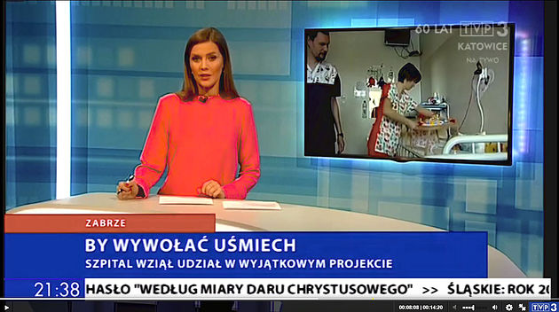 TVP 3 Katowice – by wywołać uśmiech. Reportaż o wyjątkowym projekcie stworzonym przez Annę Młyńską, twórcę marki EFIMED