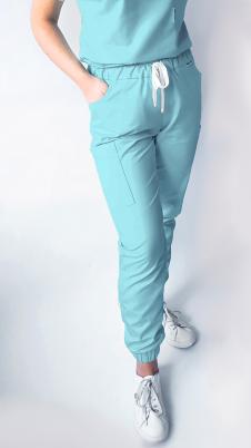 Spodnie medyczne damskie standart joggery bojówki EFIMED